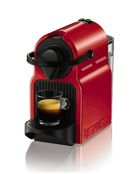 Krups Nespresso Inissia ruby red XN100540 £80.99 Click to visit House of Fraser