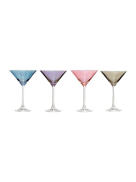 Linea Lustre crystal martini glasses set of 4 now £25 Click to visit House of Fraser