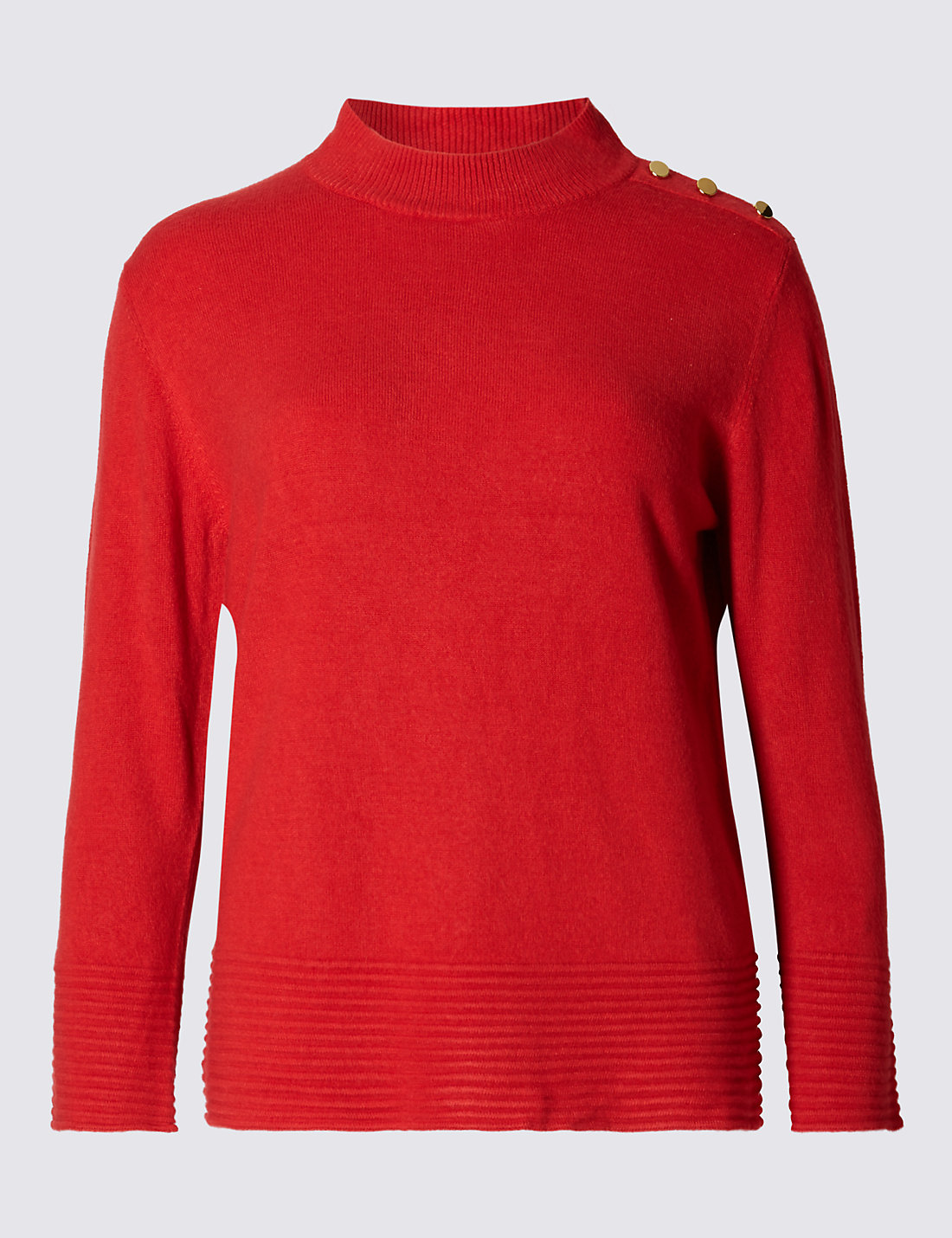 PER UNA New Ripple Turtle Neck 3/4 Sleeve Jumper £25.00 Click t visit M&S