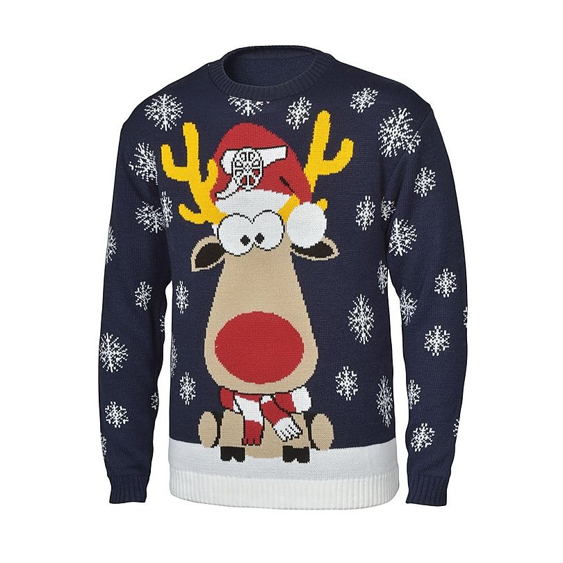 Arsenal Mens Christmas Jumper £35 Click to visit Arsenal Official shop