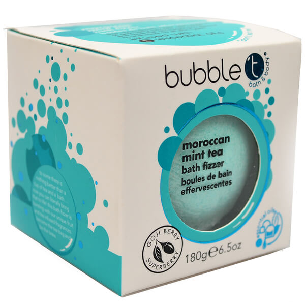 Bubble T Bath Fizzer - Moroccan Mint Tea 180g £3 Click to visit Beauty Expert