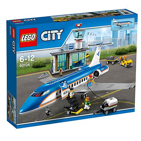 LEGO City 60104 Passenger Terminal £55 Click to visit John Lewis