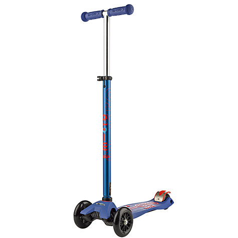 Micro Maxi Micro Deluxe Scooter, Blue £119.99 Click to visit John Lewis