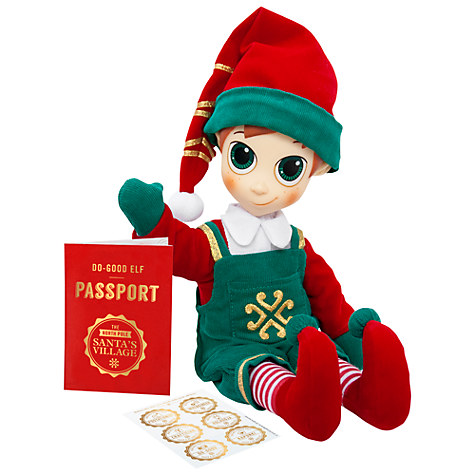 Portable North Pole Boy Elf £16 Click to visit John Lewis