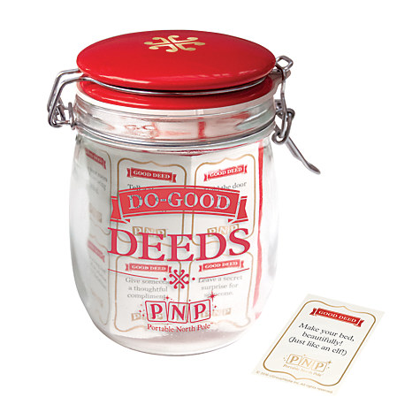 Portable North Pole Good Deed Jar £6.40 Click to visit John Lewis