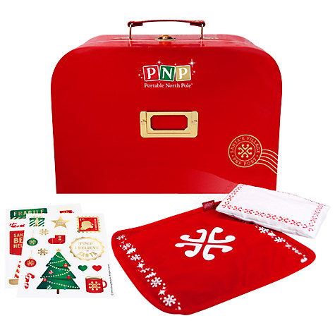 Portable North Pole Elf Activity Suitcase £12 Click to visit John Lewis