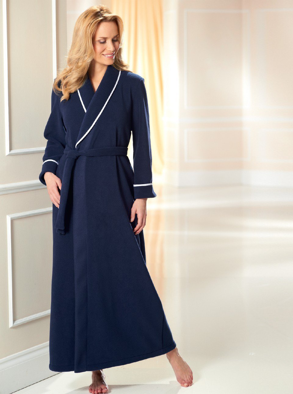 Elegant Fleece Wrap £135 Click to visit David Nieper