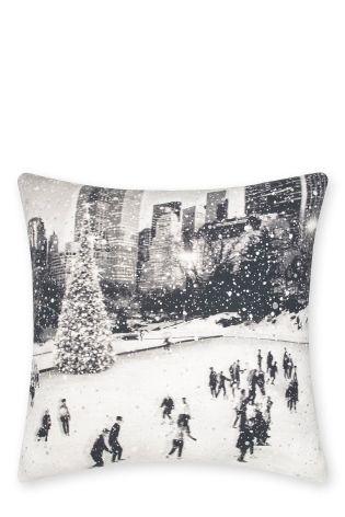 Glitter Scene Cushion £12 Click to visit Next