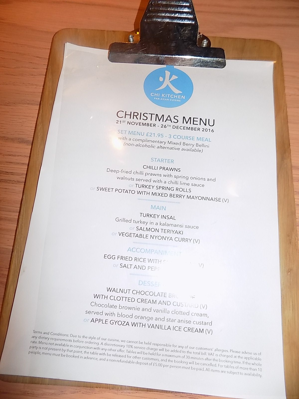 Chi Kitchen have a new Christmas Menu | fashionmommy\'s Blog