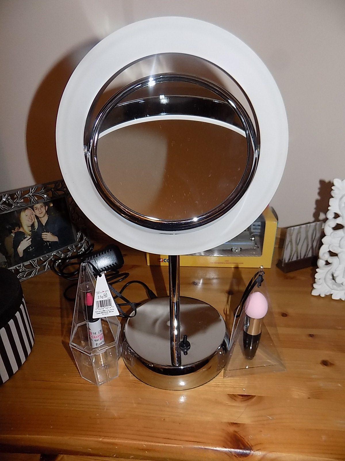 Sara LED Magnifying Vanity Mirror £84.49 Click to visit Pebble Grey