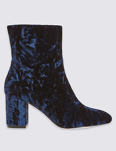 ARCHIVE BY ALEXA The Wade Velvet Boot T020318A £65.00 Click to visit M&S