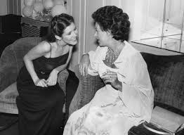 With Princess Margaret
