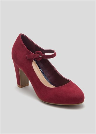 Round Toe Mary Jane Shoes £16 Click to visit Matalan