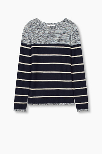 Striped jumper, 100% Cotton £ 29.00 Click to visit Esprit