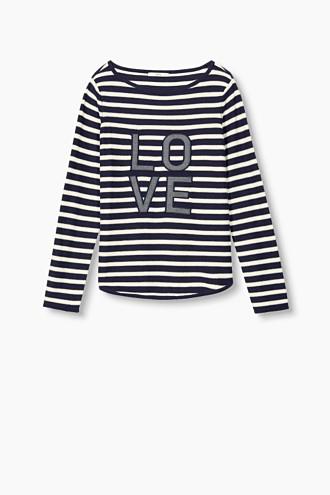 Appliquéd cotton jumper £ 29.00 Click to visit Esprit