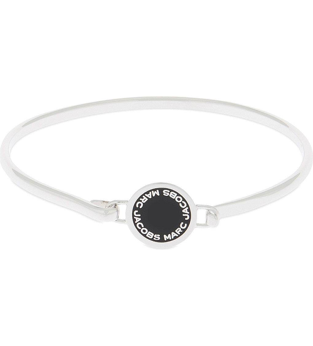 MARC JACOBS Enamel disc hinged bracelet £50.00 Click to visit Selfridges