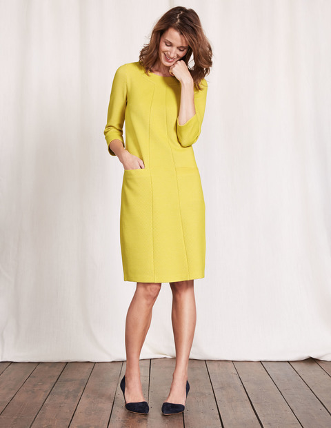 Riva Jacquard Dress £90 Click to visit Boden