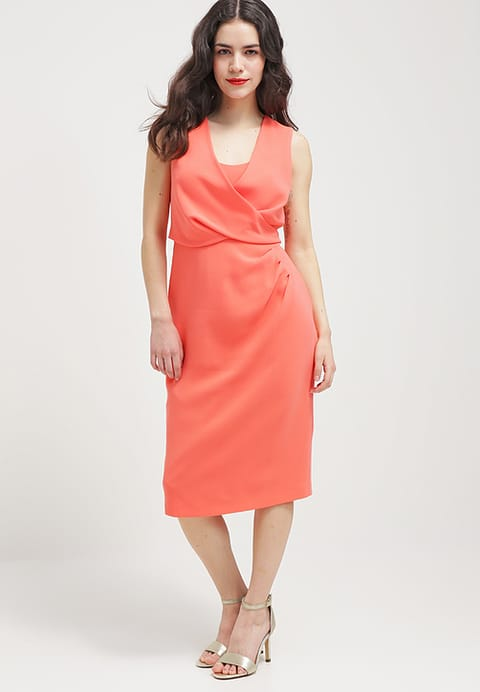 Coast PetiteCLAUDETTE - Cocktail dress / Party dress - coral