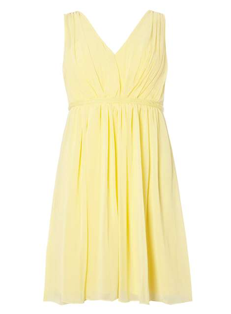 **Vila Yellow Chiffon Dress Was £42.00 Now £21.00Click to visit Dorothy Perkins
