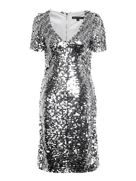 French Connection Snow Sequins Bodycon Dress £85 Click to visit House of Fraser