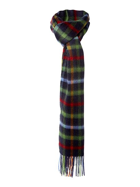 Barbour Bolt tattersall scarf Now £25 Click to visit House of Fraser