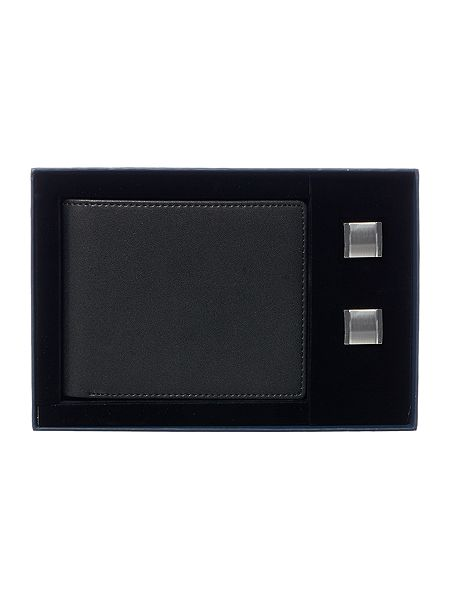 Linea Wallet & Cufflink Set £12 Click to visit House of Fraser
