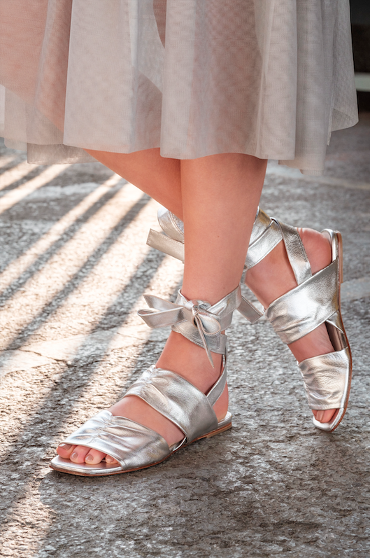 Tie Flat Sandals by Molly Goddard x Topshop £95.00 Click to visit Topshop