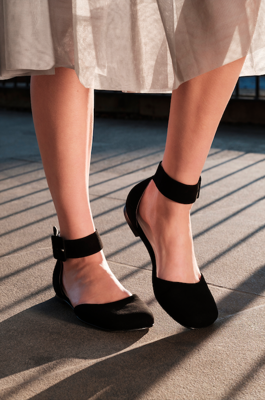Buckle Sandals by Molly Goddard x Topshop £95.00 Click to visit Topshop