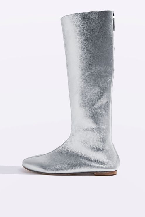 Knee Boots by Molly Goddard x Topshop £175.00 Click to visit Topshop