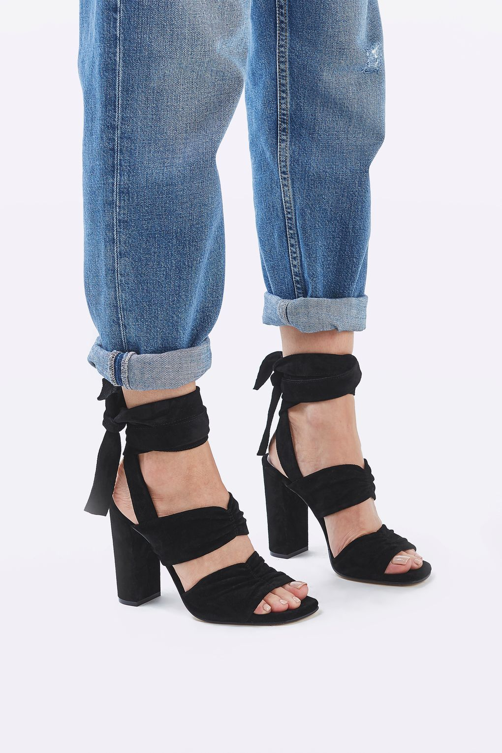 High Sandals by Molly Goddard x Topshop £125.00 Click to visit Topshop