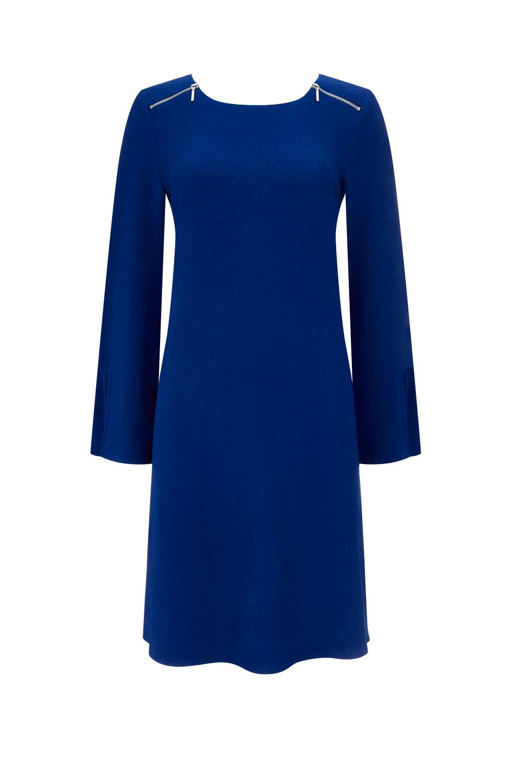 Blue Zip Shoulder Tunic Dress Was £35.00 Now £25.00Click to visit Wallis