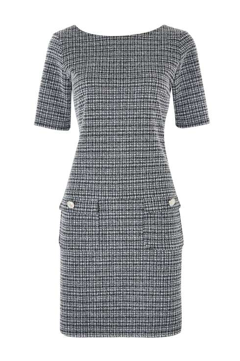 Monochrome Geometric Print Shift Dress £35 Click to visit Wallis