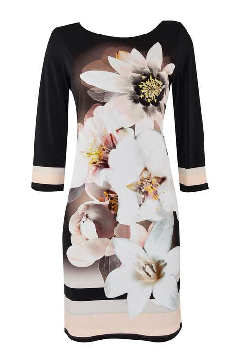 Blush Floral Tunic Dress Price: £42.00 Click to visit Wallis