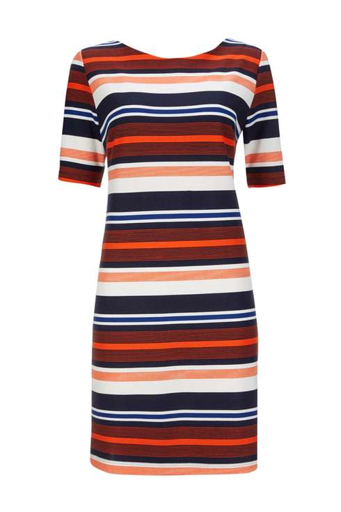 Blue And Red Stripe Shift Dress Was £40.00 Now £25.00Click to visit Wallis