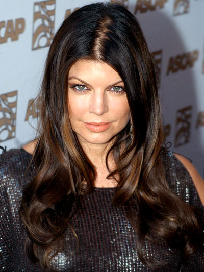 Fergie is another female celeb who has suffered from hair loss