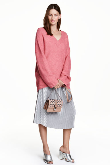 Pleated skirt £29.99 Click to visit H&M