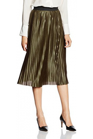 New Look Women's Sateen Pleat Skirt from £7.95 Click to visit Amazon