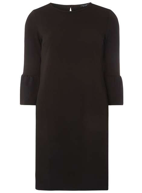 Black Flute Sleeve Shift Dress Price: £25.00 Click to visit Dorothy Perkins