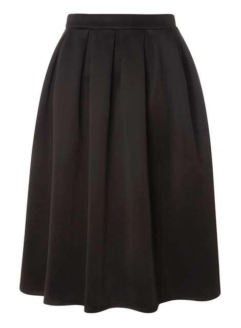 black full skirt Price: £25.00 Click to visit Dorothy Perkins