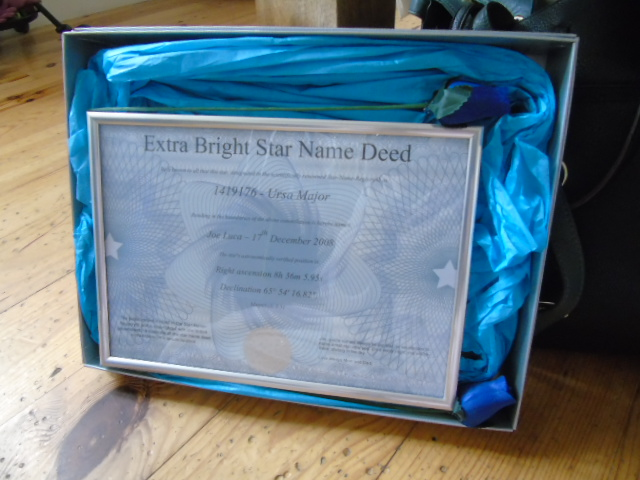Star Name Registry – Win your own star. | fashionmommy's Blog